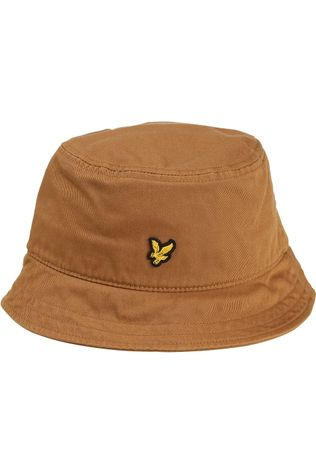 Lyle & Scott Hoed Bucket Hat Middenbruin