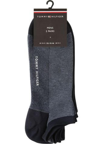 Tommy Hilfiger Socks Kouss Bird Eye Sneaker Donkerblauw