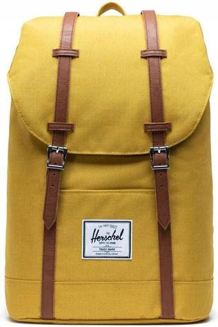 Herschel Supply Daypack Retreat dark yellow