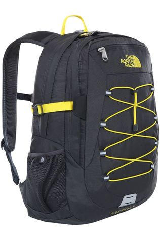 The North Face Sac à Dos Borealis Classic Gris Moyen/Jaune Clair
