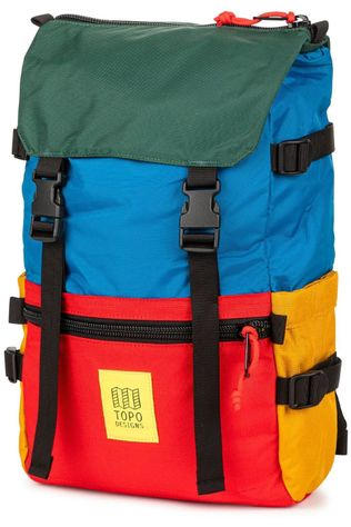 Topo Designs Daypack Rover Pack Classic mid blue/mid red
