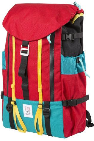 Topo Designs Dagrugzak Mountain Pack Middenrood/Middengroen