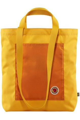 Fjällräven Daypack Samlaren Totepack 1C dark yellow/orange