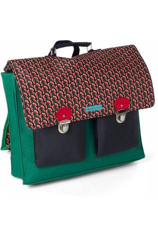 Froy & Dind School Bag Schooler mid red/mid green