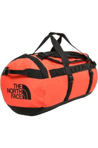 The North Face Travel Bag Base Camp Duffel M/71L light red/black