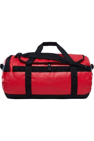 The North Face Travel Bag  Base Camp Duffel L/95L mid red/black