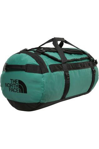The North Face Travel Bag  Base Camp Duffel L/95L dark green/black