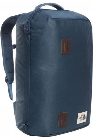 The North Face Travel Bag Travel Duffel Pack dark blue/mid red