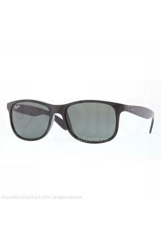 Ray-Ban Glasses Andy black/mid grey