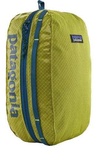 Patagonia Wash Bag Black Hole Cube M Lime Green
