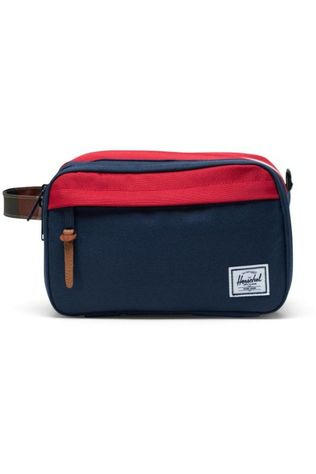 Herschel Supply Trousse De Toilette Chapter Xl Bleu Moyen/Rouge Moyen
