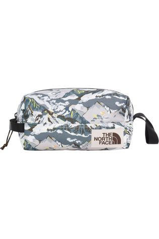 The North Face Trousse De Toilette Liberty Toiletry Kit Blanc/Gris Clair