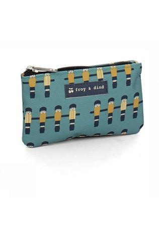 Froy & Dind Purse Money Light Blue/Assorted / Mixed