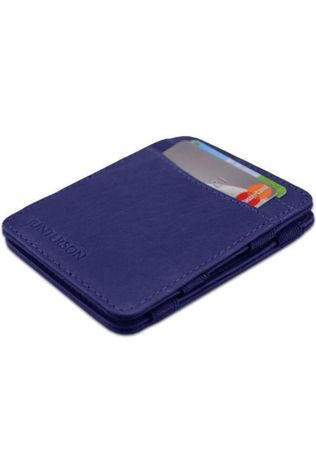 Hunterson Portefeuille Leather RFID Magic Wallet Middenblauw