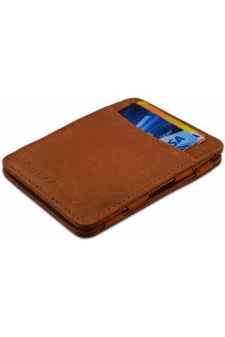 Hunterson Portefeuille Leather RFID Magic Wallet Marron Chameau