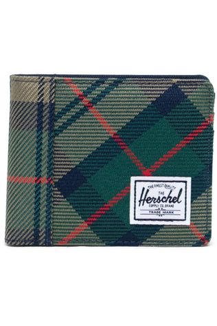 Herschel Supply Portefeuille Roy Coin Middengroen/Lichtgroen