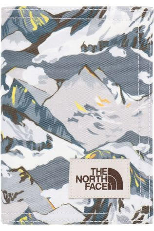 The North Face Portefeuille Travel Wallet Wit/Lichtgrijs