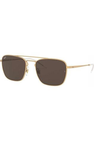 Ray-Ban Glasses Rb3588 gold/mid brown