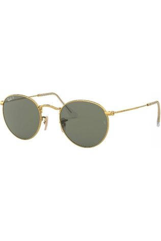 Ray-Ban Glasses Rb3447 gold/dark green