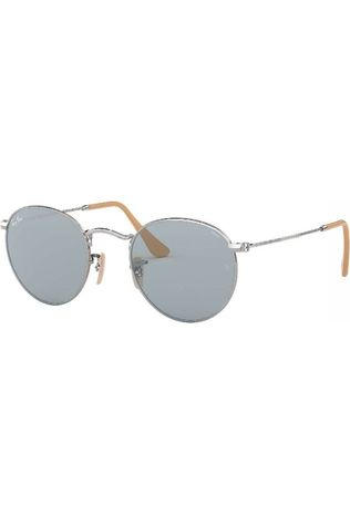 Ray-Ban Glasses Rb3447 silver/light blue