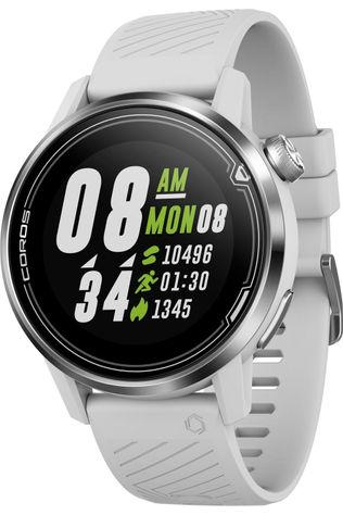 Coros Gps Apex 42mm White/Silver Wit/Zilver