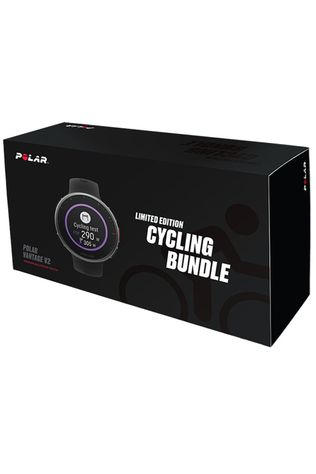 Polar Gps Vantage V2 Blk M/L Cycling Bundle Zwart