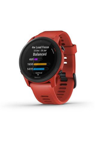 Garmin Sport watch Forerunner 745 mid red