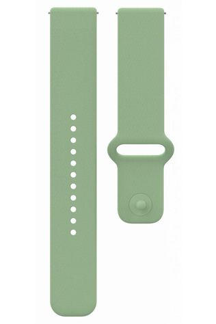 Polar Sportacc Wristband 22mm Sil Mint S-L Snap Turkoois
