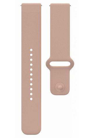 Polar Acc Sport Wristband 22mm Sil Blush S-L Snap Pas de couleur / Transparent