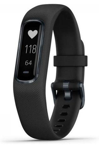 Garmin Activity Tracker Vivosmart 4 L Zwart/Middengrijs