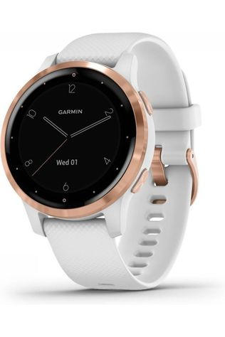 Garmin Activity Tracker Vivoactive 4S Wit/Lichtroze