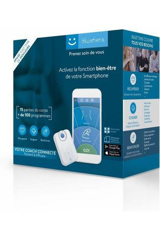 Bluetens Accessory Packaging Sport + Acc white/mid blue