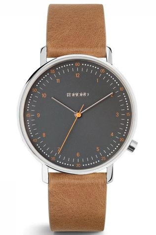 Komono Watch Lewis mid brown/dark grey