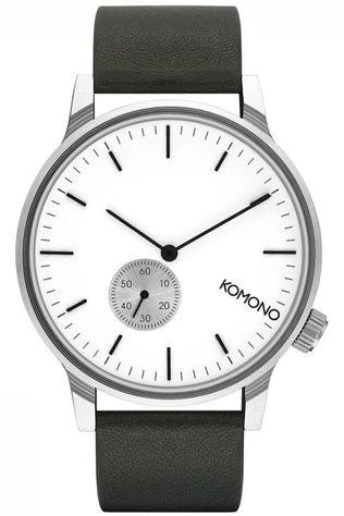 Komono Watch Winston dark grey/white