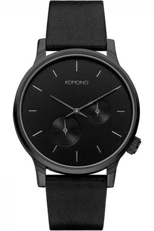 Komono Watch Double Subs black