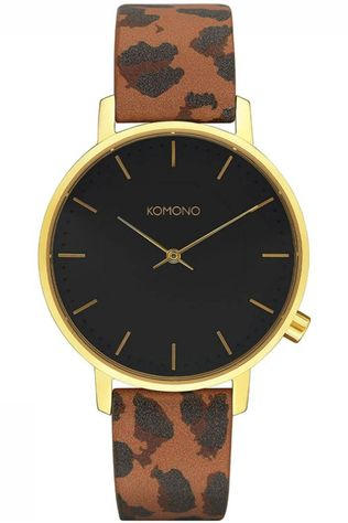 Komono Watch Harlow Animal light brown/black