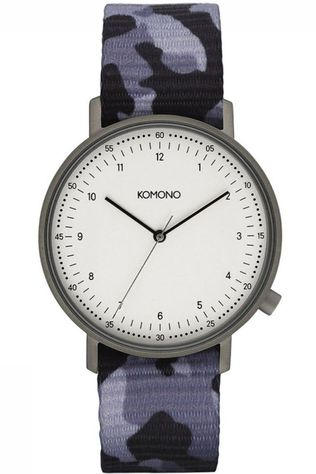 Komono Watch Lewis Camo black/mid grey
