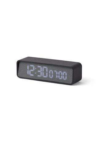 Lexon Alarm Clock Oslo Time dark grey/light grey