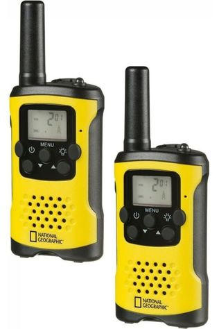 National Geographic Talkie-Walkie FM Jaune Moyen/Noir