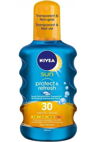 Nivea Sun Protection SPF30 200ML Invisible Protection Spray No Colour