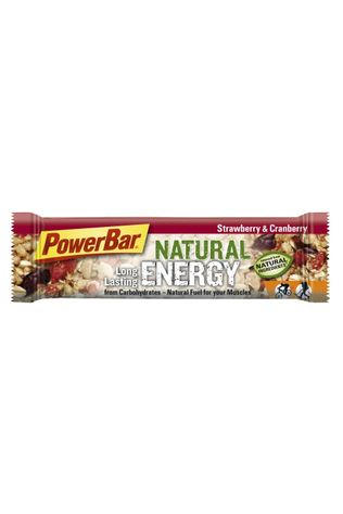 Powerbar Reep Natural Strawberry & Cranberry Geen kleur / Transparant