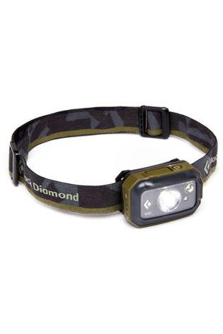 Black Diamond Headlamp Revolt 350 black/mid khaki