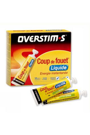 Overstim's Gels Coup De Fouet Fruits Rouges Liq Pas de couleur / Transparent