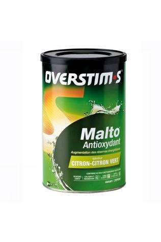 Overstim's Powder Malto Antioxidant Citroen Groene Vruchten No Colour