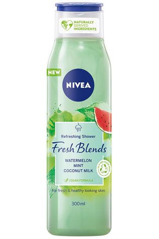 Nivea Douchegel Watermelon Fresh Blends 250ml Geen kleur / Transparant