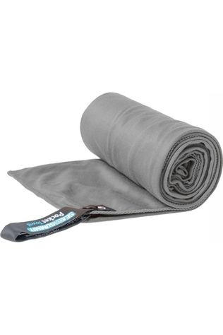 Sea To Summit Serviette Pocket Towel X-Large 75 x 150cm Gris Moyen
