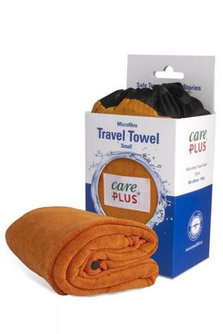 Care Plus Handdoek Travel Towel Small Copper Koper