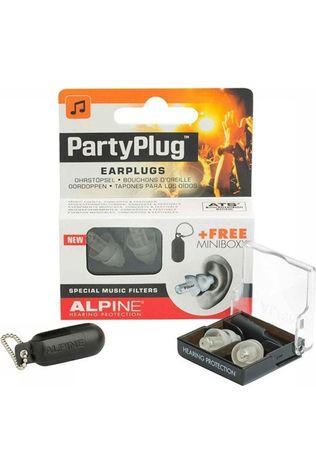 Alpine Boules Quies Earplugs Partyplug Blanc