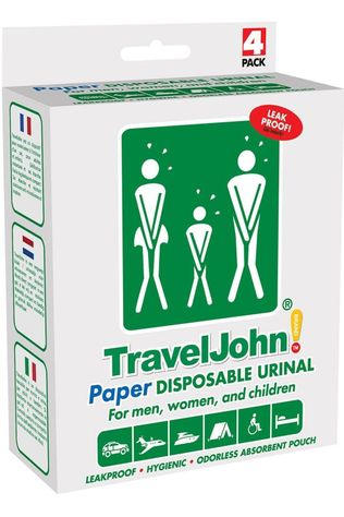 Traveljohn Toilet Accessory Papier 4 Stuks No colour