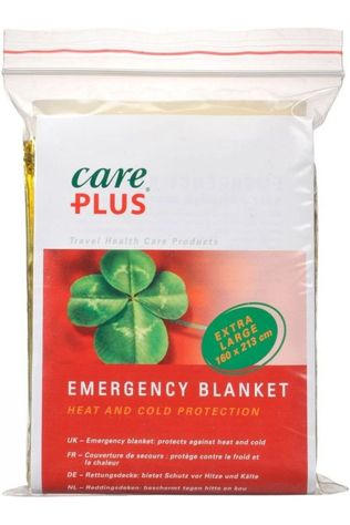 Care Plus Premiers Secours Emergency Blanket Pas de couleur / Transparent